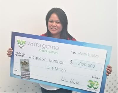 Woodbridge woman wins $1 million on lottery ticket