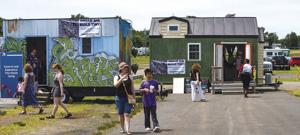 Tiny houses are big draw at Prince William fairgrounds