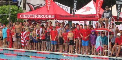Chesterbrook swim team photo
