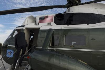 Military-helicopter flights