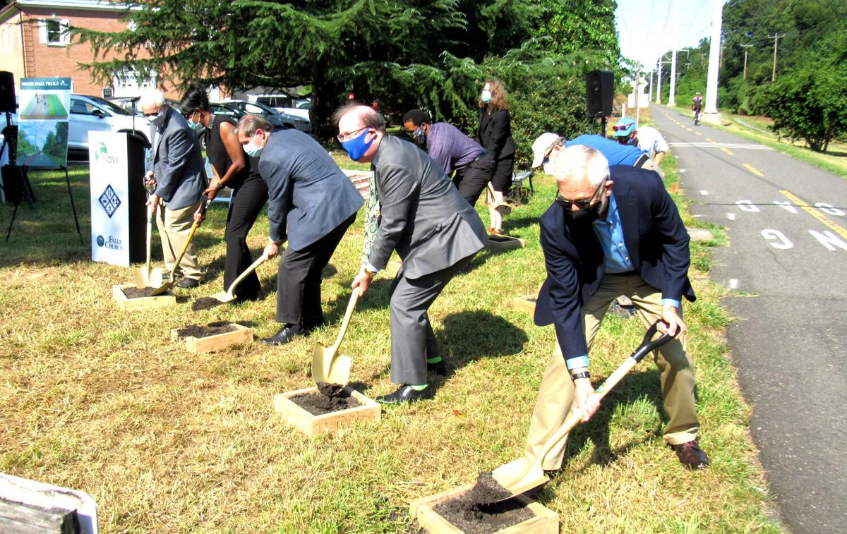 Park leaders kick off construction for dual-use segment of W&OD
