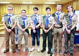 Six Arlington Scouts ascend to Eagle status