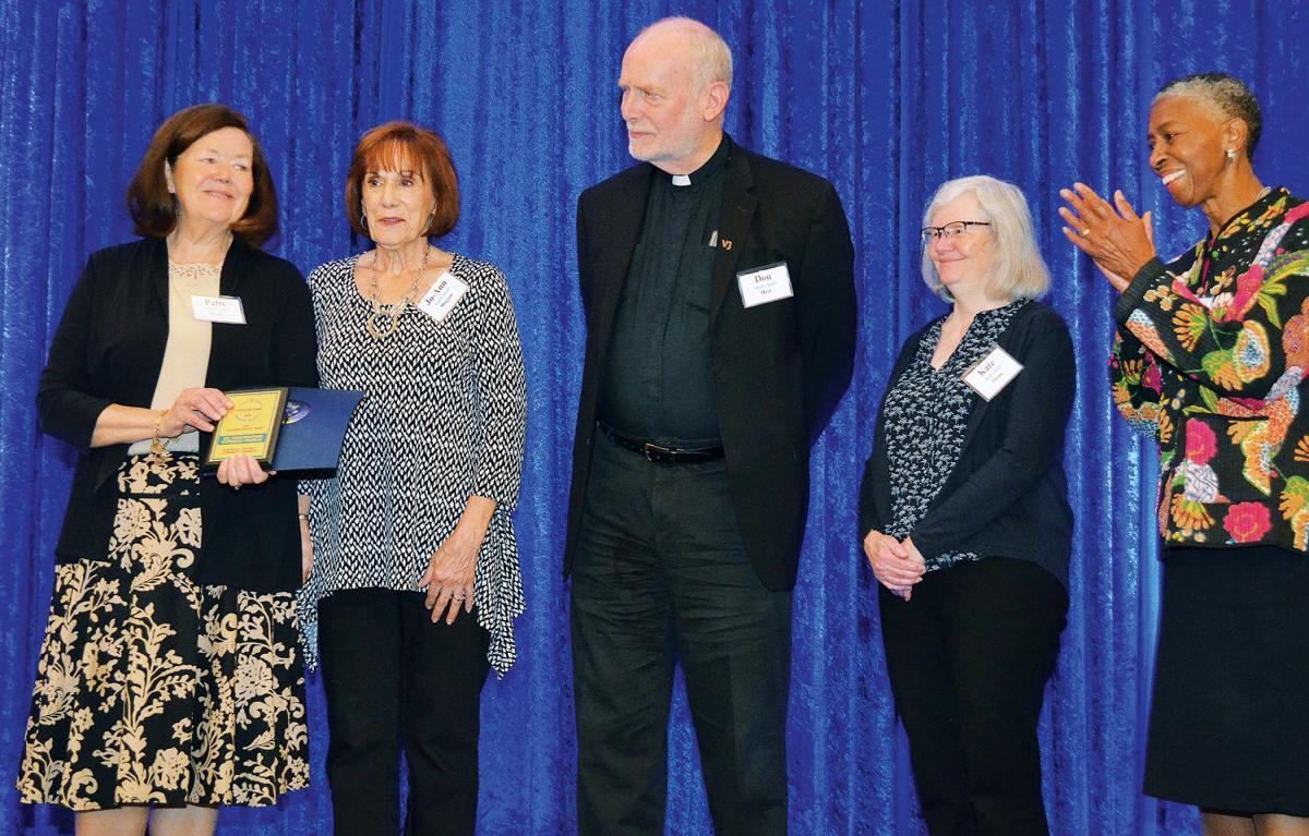 St. John Neumann Catholic Church honored for volunteerism
