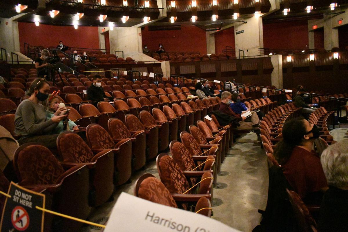 Manassas Ballet Hylton social distanced performance