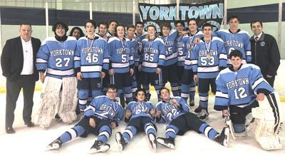 Yorktown ice hockey champs