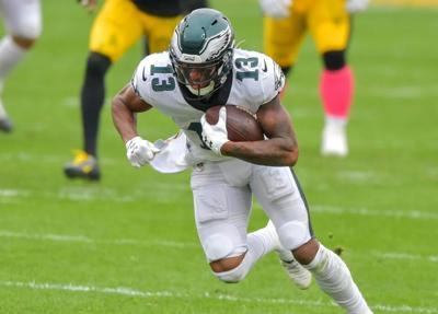 Travis Fulgham wide receiver Philadelphia Eagles