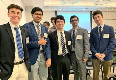 Marshall students find success in business competition