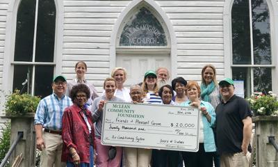 Contribution boosts Historic Pleasant Grove