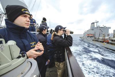 Arlington resident serving on board guided-missile destroyer