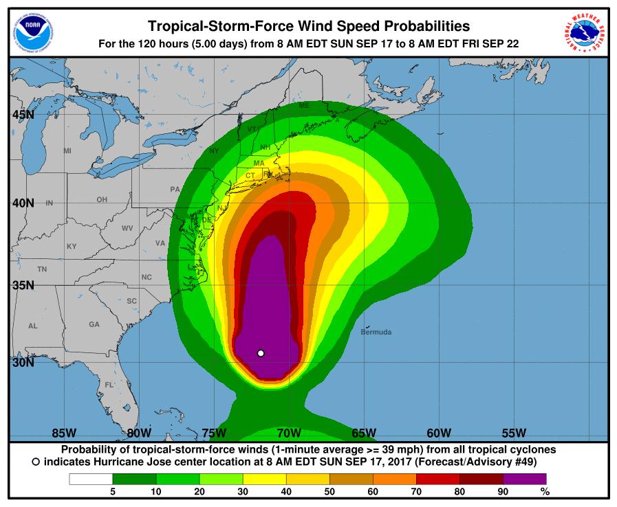 Tropical Storm Maria heads towards the Caribbean