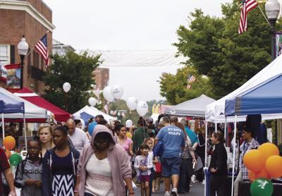 Manassas street festival