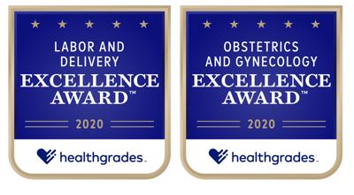 Reston Hospital Center Healthgrades awards
