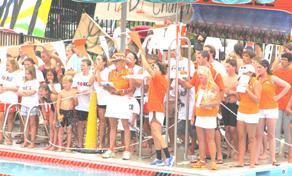 Overlee swim club cheering