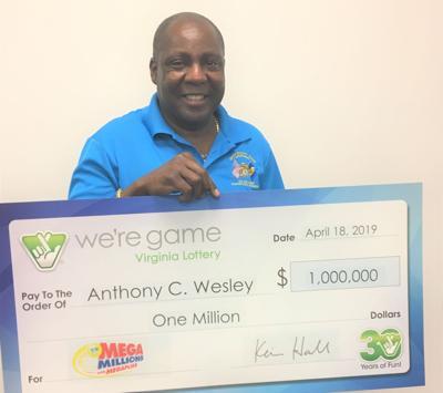 Triangle man claims $1M Mega Millions prize