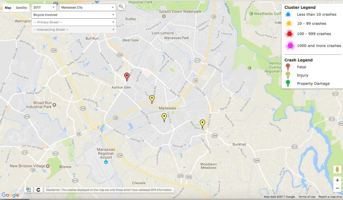Ashton Virginia Map.Virginia Crash Data Now Includes Mapping Tool Transportation