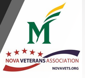 George Mason GMU Nova veterans association logo