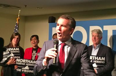 Northam, Prince William candidates campaign in Dale City