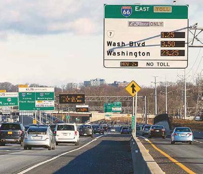 interstate 66 toll lanes pic