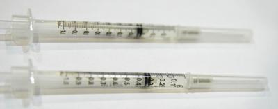 COVID-19 vaccine generic syringe