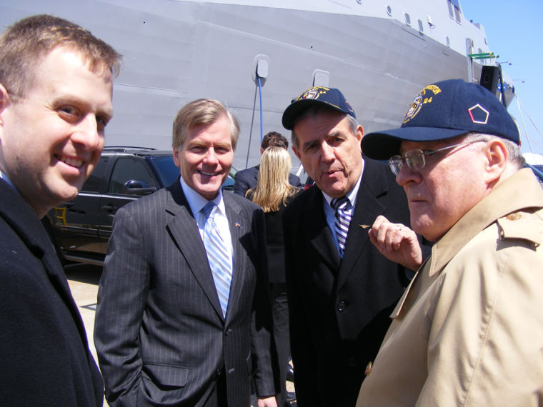 USS Arlington Commissioning 1