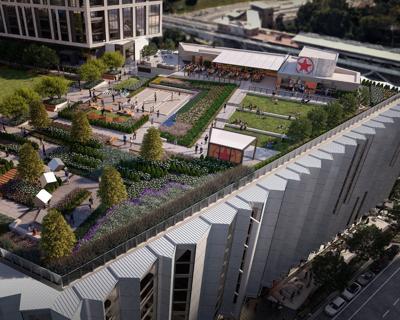 Starr Hill beer garden Capital One Center