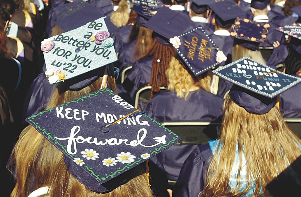 Prince William schools differ on graduation cap decorations