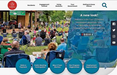 New Vienna Website aims for intuitive experience