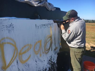 Stonewall Jackson memorial vandalized at Manassas National Battlefield Park
