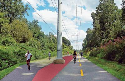 Dual-use path slated for portion of W&OD Trail