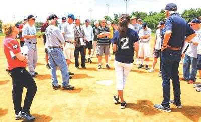 Senior softball season