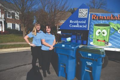 Haymarket moms launch business cleaning trash bins