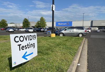 walmart drive-thru covid testing