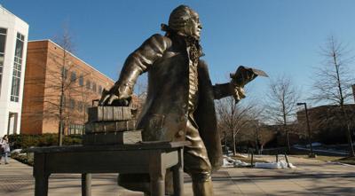 George Mason University statue