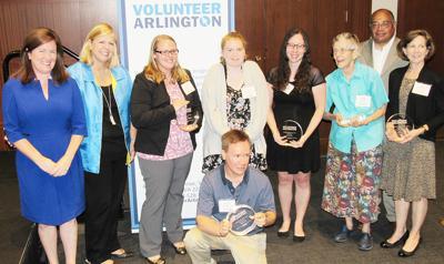 Arlington volunteers lauded