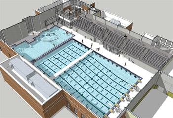 School pool could cost prince william 1 5 million a year for Pool design education
