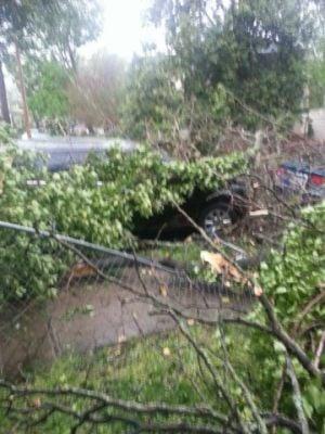 Nws Tornado Touched Down In Fredericksburg Insidenova