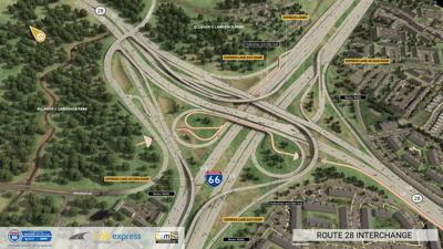 NoVa's Next Spaghetti Bowl: I-66/Va. 28 work is about to get more complicated