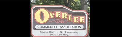 Overlee pool sign