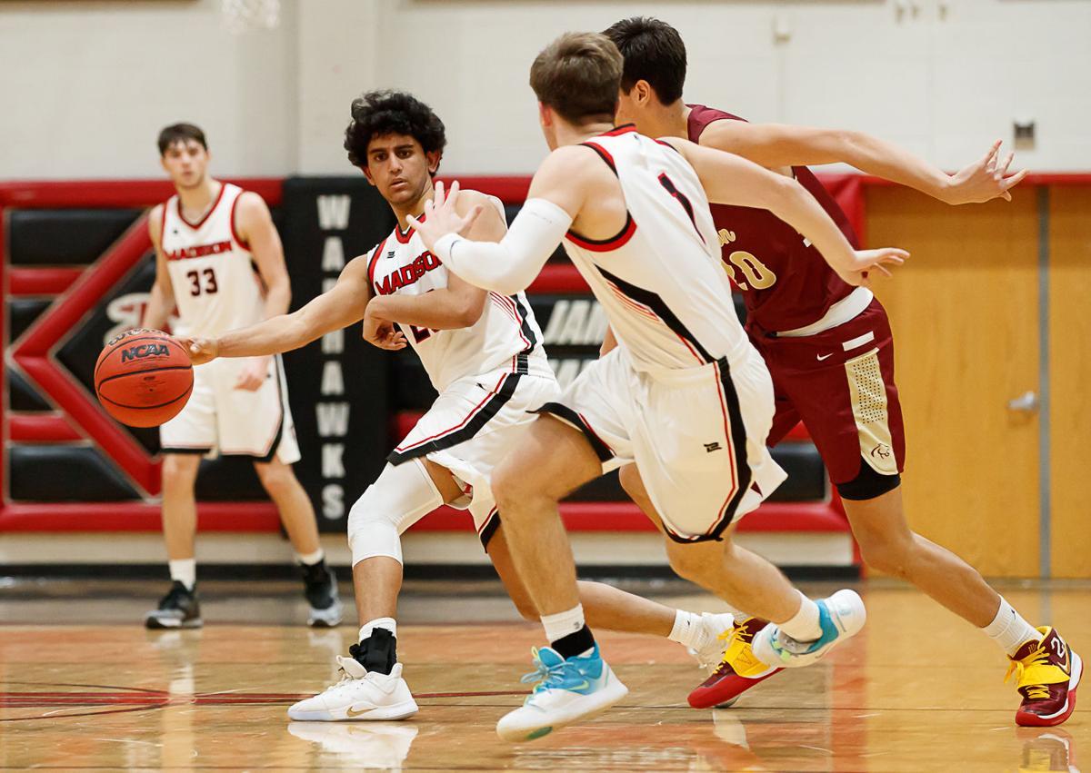 Madison vs. Oakton boys basketball 1