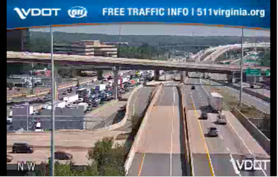 traffic wreck 95 south 7/16