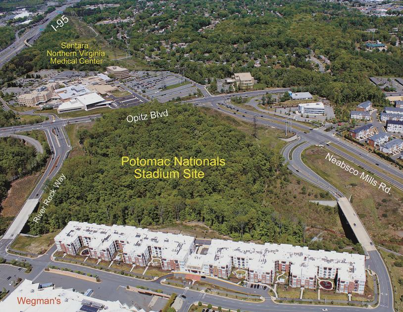 potomac nationals stadium proposal nears best and final pitch news insidenovacom. Resume Example. Resume CV Cover Letter