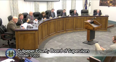 Culpeper County fails to pass resolution cutting funding for entities imposing COVID-19 mandates