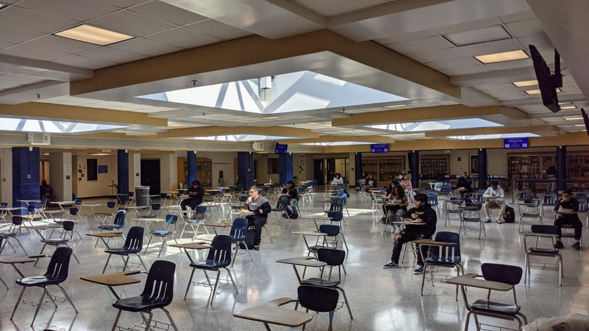 Hylton High School first day