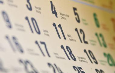calendar generic