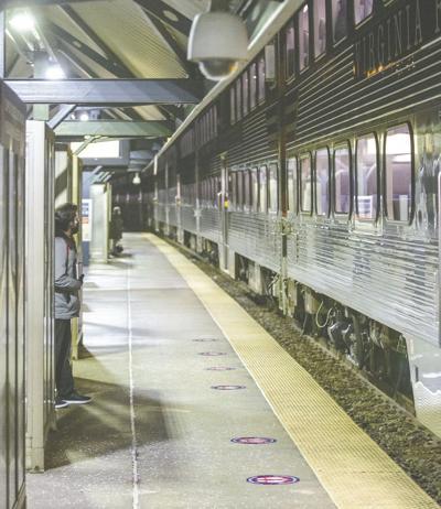 VRE Woodbridge station ridership down