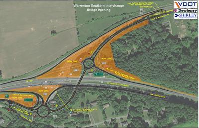 Traffic to begin using Warrenton southern interchange on U.S. 29