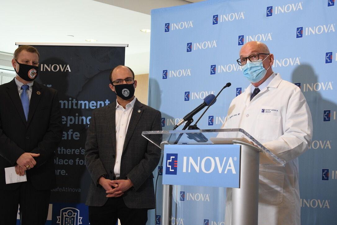Inova vaccination center Dr. Stephen Jones