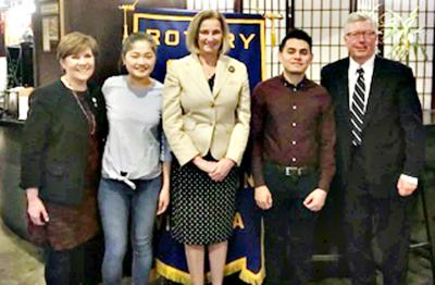 Arlington Rotary lauds students