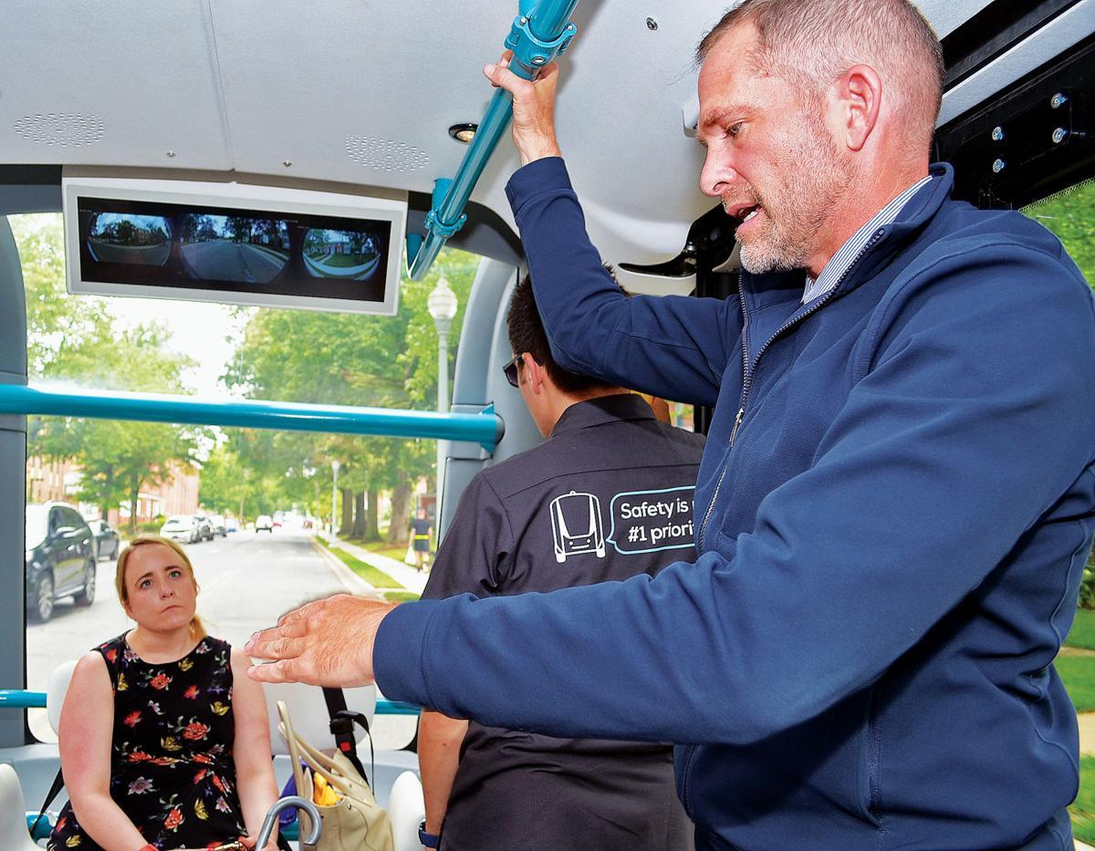 Autonomous-vehicle CEO discusses features of 'Olli' buses