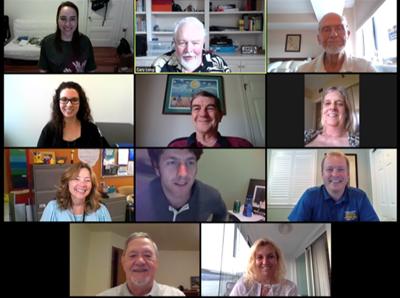 Arlington Rotarians tap leadership team for 2020-21